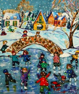 Unicef Holiday Cards Are Available Now Gather Around The Frozen River By Katerina Martikas